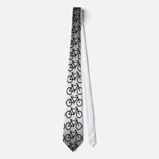 Silver Metallic Bicycle Tie