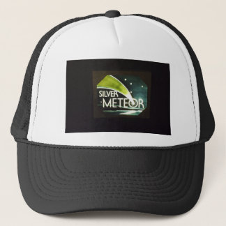 Silver Meteor Railroad Sign Hat