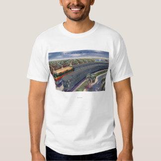 "Silver Meteors ""Seaboard"" in Florida Highlands Tshirt"