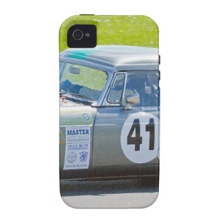 Silver MG racing car Case-Mate iPhone 4 Cases