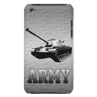 Silver Military M-60 Patton Tank iPod Touch Case-Mate Case