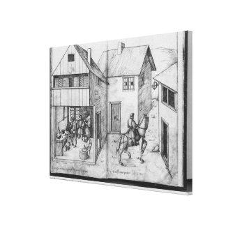 Silver mine of La Croix-aux-Mines, Lorraine 2 Canvas Print