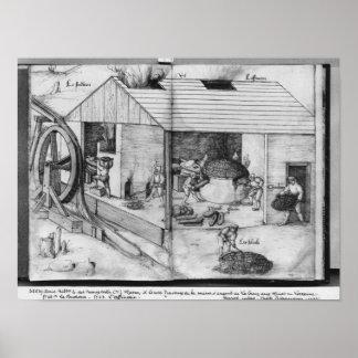 Silver mine of La Croix-aux-Mines, Lorraine 3 Poster