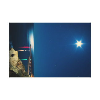 Silver Moon Canvas Print