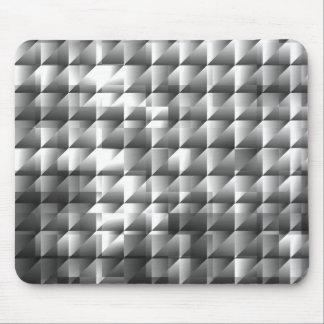 Silver Mosaic Mouse Mat