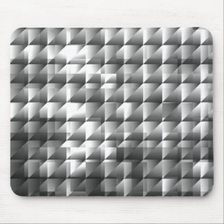 Silver Mosaic Mouse Pad