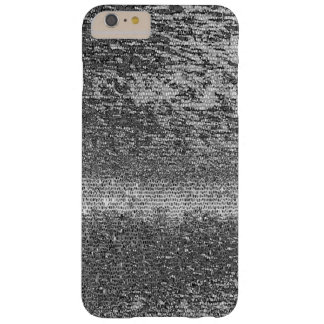 Silver mosaic pattern barely there iPhone 6 plus case