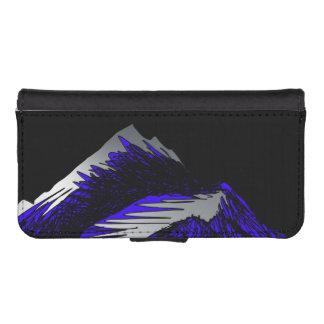 silver mountain phone wallet case
