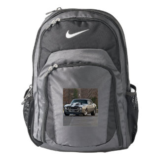 Silver Muscle car Backpack