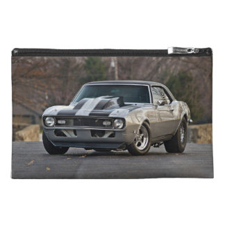 Silver Muscle car Travel Accessory Bags