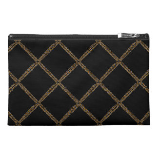 Silver N Gold Chains Travel Accessory Bag