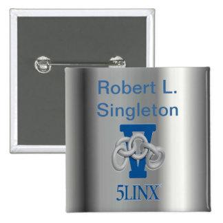 Silver Name Badge #2