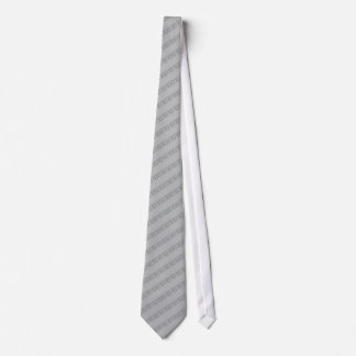 Silver Nerd Digital Tie