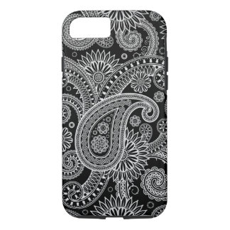 Silver Paisley iPhone 7 case