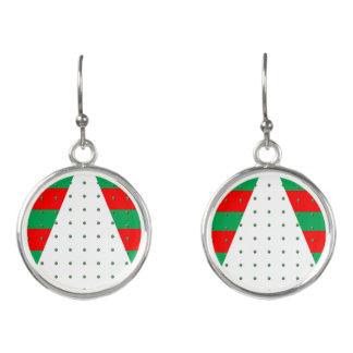 Silver-plated Drop Earrings