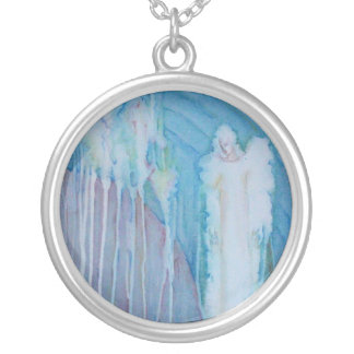 """silver plated necklace """"Angel"""""""