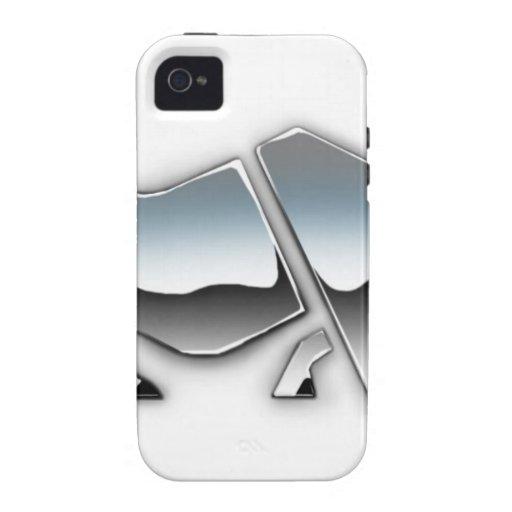 SILVER RHINO Case-Mate iPhone 4 COVER