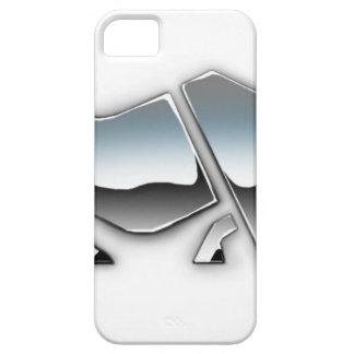 SILVER RHINO iPhone 5 CASE