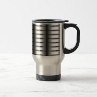 Silver Ribbons Coffee Mug