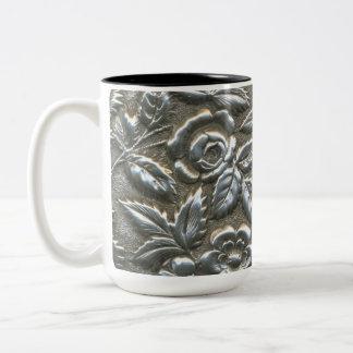 Silver Rose circa 1870 Two-Tone Mug