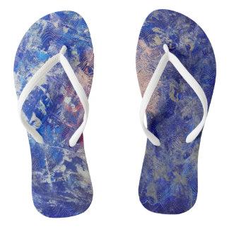 Silver Run Flip Flops