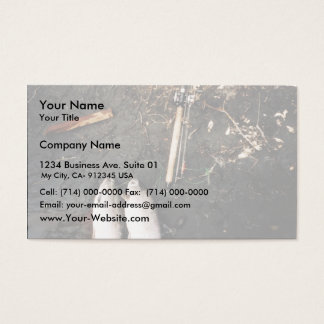 Silver Salmon or Coho Salmon Catch Business Card