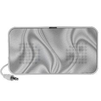 Silver Satin Portable Speaker