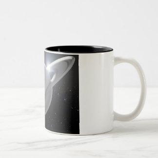 silver saturn mug