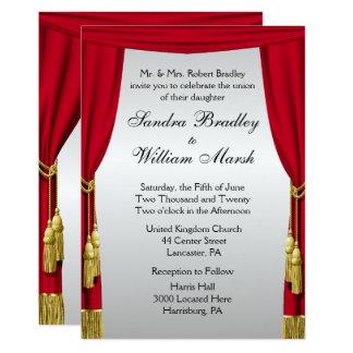 Silver Screen  Wedding Invitation