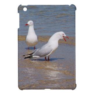 Silver Seagulls Case For The iPad Mini