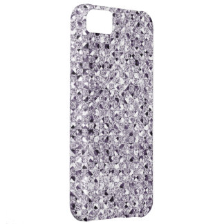 Silver Sequin Effect Phone Cases iPhone 5C Case