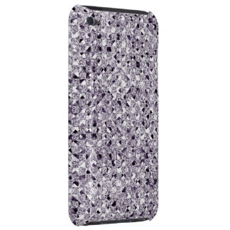 Silver Sequin Effect Phone Cases iPod Touch Case-Mate Case