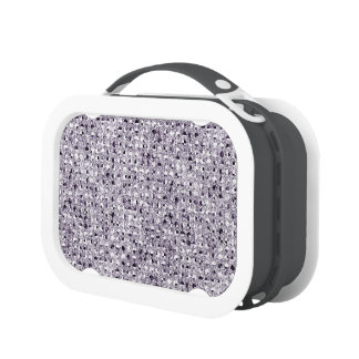 Silver Sequinned Bling Effect Lunchboxes