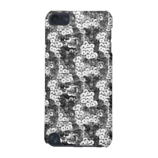 Silver Sequins iPod Touch (5th Generation) Case