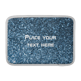 Silver Sequins Sleeve For MacBook Air