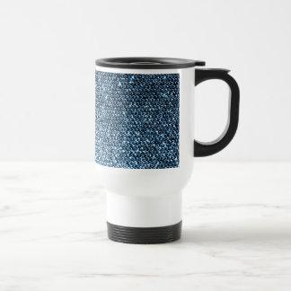 Silver Sequins Travel Mug