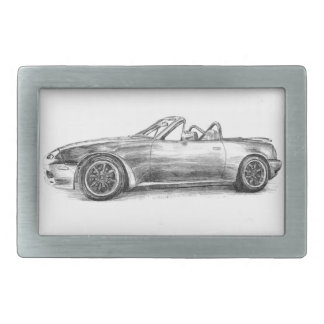 Silver Shadow MX5 Belt Buckles