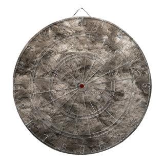 Silver Shag Pile Carpet Dartboard