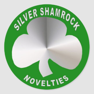 Silver Shamrock Novelties Classic Round Sticker