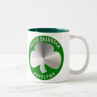 Silver Shamrock Novelties Mug
