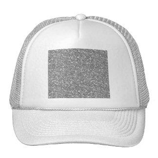 Silver Shimmer Glitter Hat