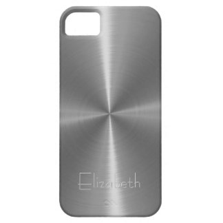 Silver Shiny Steel Metal Case For The iPhone 5