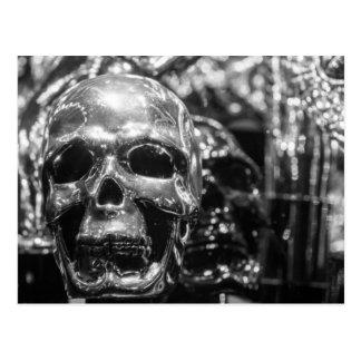 Silver Skull Postcard