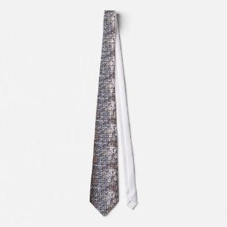 Silver Sparkling Sequin Look Tie