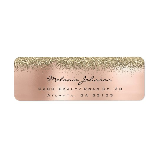 Silver Sparkly Glitter Pink Rose Gold  Metallic
