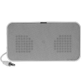 Silver Portable Speaker