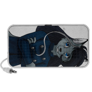 Silver iPod Speakers