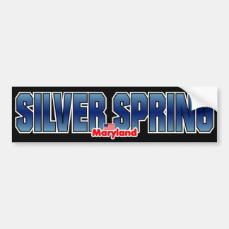 Silver Spring Bumper Bumper Sticker