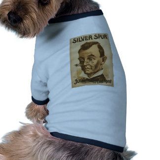 Silver Spur, 'The Land Agent' Retro Theater Ringer Dog Shirt