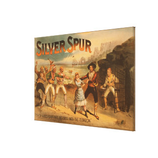 Silver SpurPirates Theatrical Poster Canvas Prints